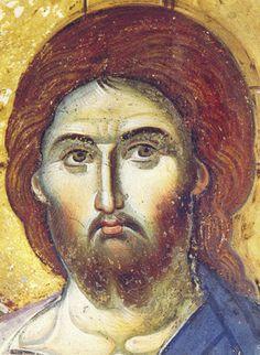 Christos Pantokrator by Manuel Panselinos 12th c.