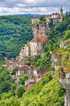 Rocamadour in the Dordogne, France