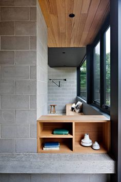 Neues Strandhaus / Hide and Seek House von Bower Architecture Australian Interior Design, Interior Design Awards, Interior Styling, Australian Architecture, Cinder Block House, Cinder Block Walls, Cinder Blocks, Concrete Block Walls, Concrete Houses