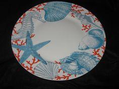 222 Fifth Coastal Life - Grenada - Dinner Plates - Set Of 4 - New • $50.00