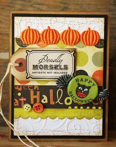 halloween cards to make | Cute Halloween card to make!