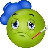 In Deutschland sollen heute (Anfang März 2015) etwa 20 % der Bevölkerung an Grippe erkrankt sein! Das geht nicht mit rechten Dingen zu.... Die 14 Gebote zum richtig Kranksein Jede körperliche Anstrengung meiden Immer schön zuhause bleiben Tag und Nacht Kuchen, Kekse, Schokolade, Gebäck, Chips, gesalzene Erdnüsse knabbern, am besten beim Fernsehschauen. Nur kein Wasser trinken; [...]
