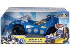 Batman e Batmóvel - Mattel com as melhores condições você encontra no Magazine…
