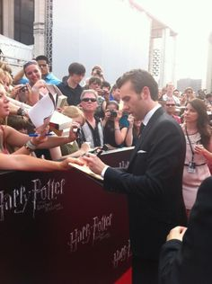 Matthew Lewis at Harry Potter and the Deathly Hallows - Part 2: NY Premiere.