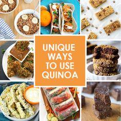 15 Unique Ways to Use Quinoa
