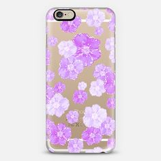 Lavender Blossoms (transparent) iPhone 6 Case by Lisa Argyropoulos get $10 off using code: H5E5FU