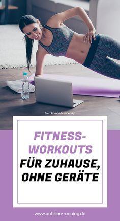 Dein eigenes Fitness-Workout für Zuhause – keine Geräte, ohne Sportklamotten machbar