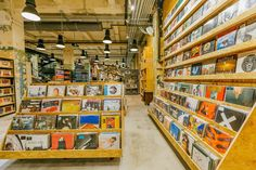 Epic vinyl shop at UO Herald.