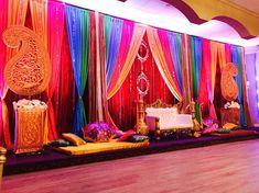 Desi Wedding Decor, Wedding Mandap, Gazebo Decorations, Wedding Stage Decorations, Indian Birthday Parties, Ladies Sangeet, Bollywood, Mehndi Party, Mehndi Decor