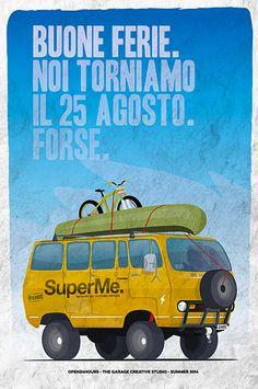Travel Van, poster www.open24hours.cc