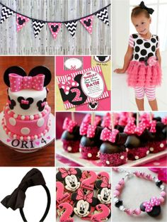 Minnie Mouse Birthday Party Ideas from mylittlejules.com  Featured @ www.partyz.co your party planning search engine!