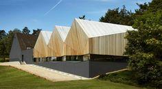 Alfriston School Swimming Pool by Duggan Morris Architects
