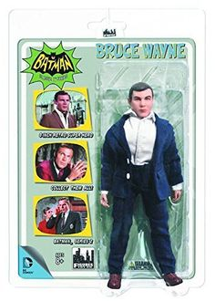 Batman Classic 1966 TV Series 2 Bruce Wayne 8-Inch Action...
