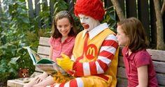 Reading with Ronald McDonald Orlando, Florida  #Kids #Events