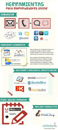 Herramientas para emprendedores online #estudiantes #emprendedores #umayor
