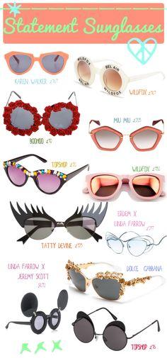 Statement,+sunglasses,+summer,+fashion,+Illustrated+Moodboard,.jpg 700×1,500 pixels