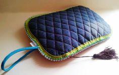 Bolso de mano tresCandela 39x28 cm http://www.trescandela.com/