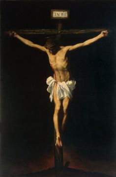Francisco de Zurbarán, Crucifixion,  1650, Oil on canvas The Hermitage, St. Petersburg.