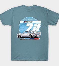 BMW – 3.0 CSL Group 2 T-Shirt by Evan DeCiren via TeePublic
