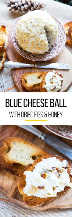When entertaining at small parties during the Thanksgiving and Christmas holidays, easy bites and appetizers are ideal to gain crowd pleasers. This blue cheese ball is one of those cold recipes that you can make ahead of time to get the most out out of your holiday meal planning. Getting your families together and make this appetizer. The recipe calls for cream cheese, crumbled blue cheese, dried figs, honey and almonds.