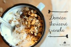 Domáca škoricová granola