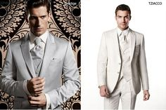 How to present these crystal wedding suits..