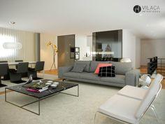Interior design by Vilaça interiores 3d Rendering by Estudio Goma