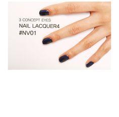 3 CONCEPT EYES NAIL LACQUER #NV01