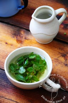 herbatka z liści poziomek Strawberry Leaves, Wild Strawberries, Seaweed Salad, Spinach, Spices, Herbs, Tea, Vegetables, Drinks