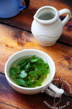 herbatka z liści poziomek