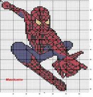 "Gallery.ru / tymannost - Альбом ""Punto de Cruz Spiderman"""