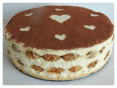 Tiramisu torta a´la Angie Delicious Cake Recipes, Yummy Cakes, Sweet Recipes, Trifle Desserts, No Bake Desserts, Lucky Food, German Baking, Sweet Bakery, Sweets Cake
