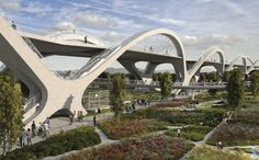 HNTB's winning concept for LA's 6th Street Viaduct Replacement Project (7)