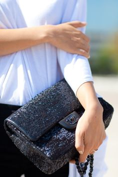 Sequined Chanel. Hello Gorgeous.