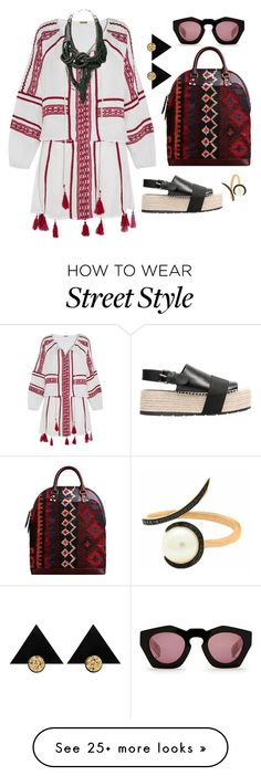 """Trying"" by silhouetteoflight on Polyvore featuring Dodo Bar Or, Christina Debs, Burberry and Balenciaga"