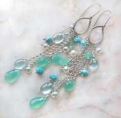 ~ The Archipelago earrings ~ by Modeste Parisienne, via Flickr