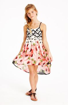 Truly Me 'Rose' Dress (Big Girls) | Nordstrom #easter #party #birthday #wedding #summer