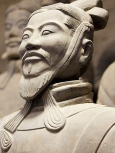 Close-Up of Terracotta Army Warrior, Xian, Shaanxi Province