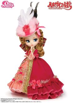 *Available Now /  Accessory: Hat, Doll Stand / Feeling:I am now the Queen of Versailles…  How lovely….Feel Like So.