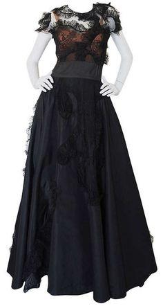 Dress  Gilbert Adrian, 1942  1stdibs.com