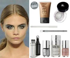 Cara Delevingne in Snow Queen makeup #beauty #bbloggers