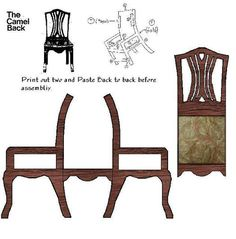 Chairs With Casters Dining Paper Doll House, Doll House Crafts, Paper Houses, Diy Barbie Furniture, Paper Furniture, Furniture Making, Furniture Ideas, Miniature Furniture, Dollhouse Furniture