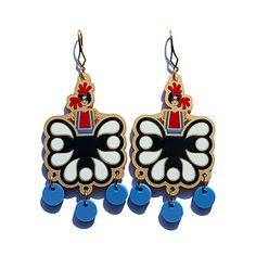 Tehuana earrings by Iris De La Torre