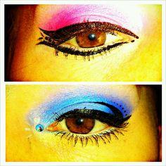 Eyeshadow party on myself