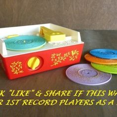 Remember your 1st record player?