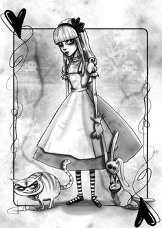 I know this is a little creepy but i love the darkness in this story and how alice fights even though she doesnt even know if she can.