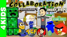 Minecraft Angry Birds Minions & More With ThatCrazyFamily
