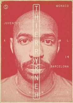 Thierry Henry, AS Monaco, Juventus Turin, Arsenal London, FC Barcelona