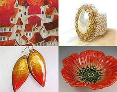 Gifts Of Gold! by Marina Lubomirsky on Etsy--Pinned with TreasuryPin.com