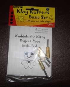 Plunge style tiny cutters by Kemper Klay Kutters by LindasArtSpot, $9.25